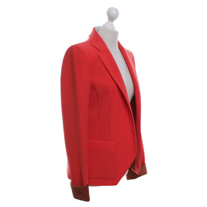 Balenciaga Blazer in Coral Red