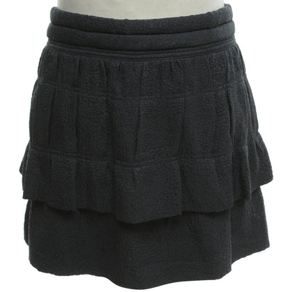 Iro Silk skirt in dark gray