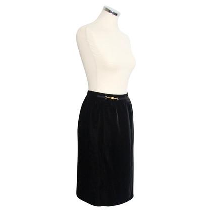 Céline Velvet Skirt