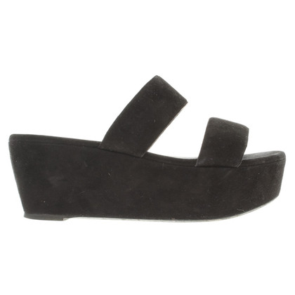 Robert Clergerie Platform sandals in black