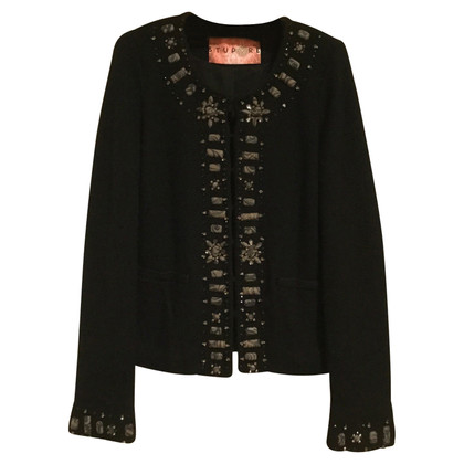 Maliparmi Woolen jacket with embroidery