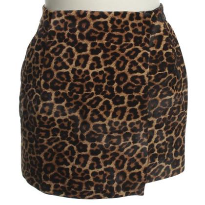 Diane von Furstenberg skirt Leopard print