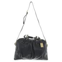 Hugo Boss Leather handbag in black