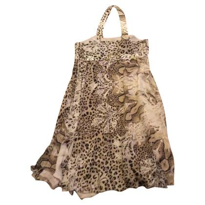 Roberto Cavalli Halter dress in silk