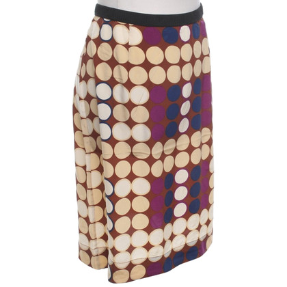 Marni for H&M silk skirt