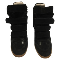 Isabel Marant Black sneaker wedges