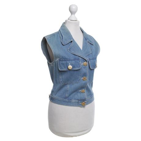 Jeansweste Moschino Moschino Blau in Jeansweste Blau Ya77wZq