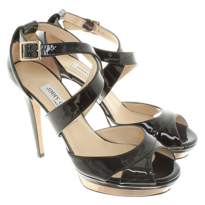 Jimmy Choo Sandaletten in Schwarz