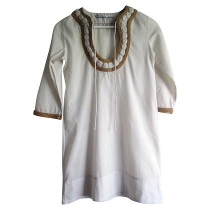 Anya Hindmarch Kleid in Weiß/Creme
