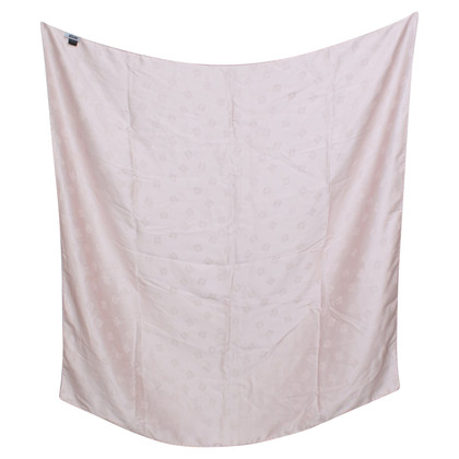 Moschino Silk scarf in nude
