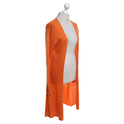 Allude Orange knit coat