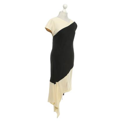 Escada Dress in black / beige