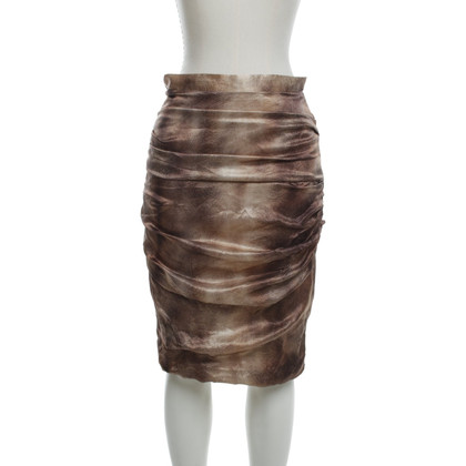 Elisabetta Franchi skirt with animal print