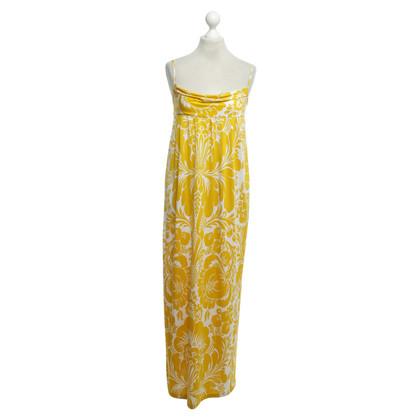 Diane von Furstenberg Maxi jurk geel