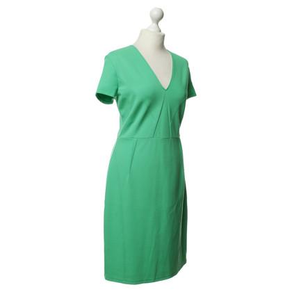 René Lezard Kleid in leuchtendem Grün