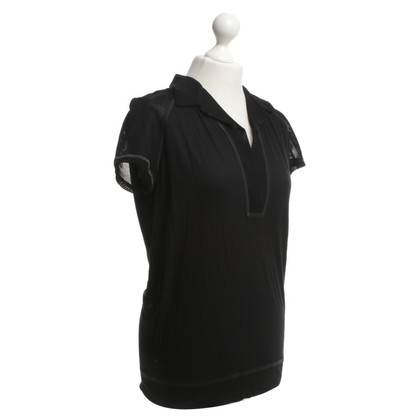 Bottega Veneta Polo shirt in zwart