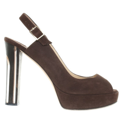Jimmy Choo Sandali a Brown