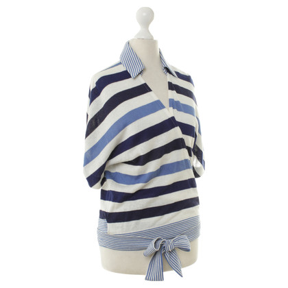 Loro Piana top with stripes