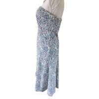 Diane von Furstenberg Robe bandeau avec motif