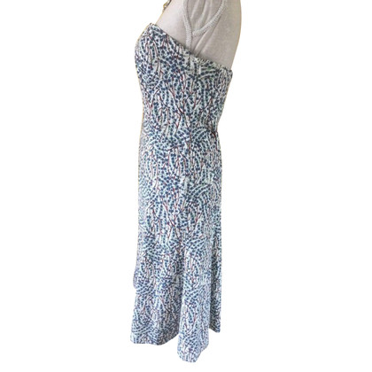 Diane von Furstenberg Bandeau-Kleid mit Muster