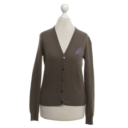 Allude Cardigan a Olive