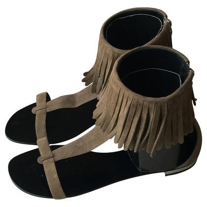 Giuseppe Zanotti Suede sandals