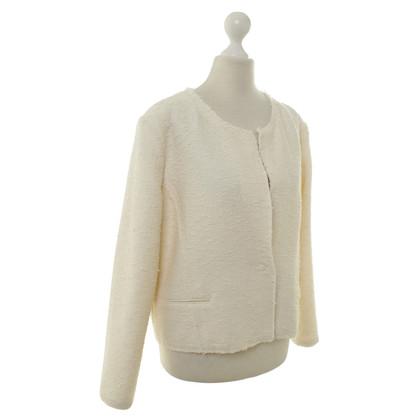 Iro Blazer in lana bianca