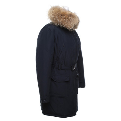 Woolrich Manteau en bleu foncé