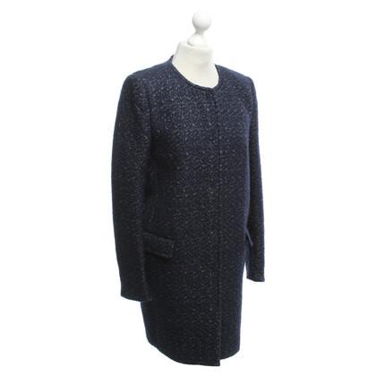 JOOP! cappotto blu con il reticolo