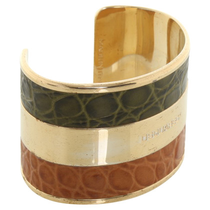 Dsquared2 Bangle met lederen detail