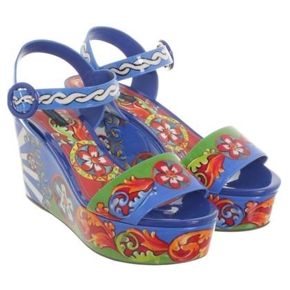 Dolce & Gabbana Zeppe in multicolor