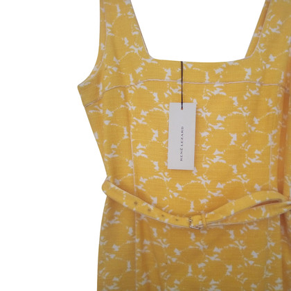 René Lezard Dress in yellow