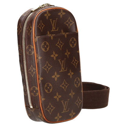 "Louis Vuitton ""Pochette Gange Monogram Canvas"""