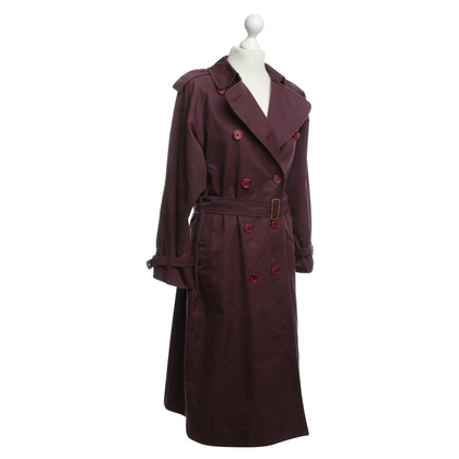 Burberry Trench coat in viola