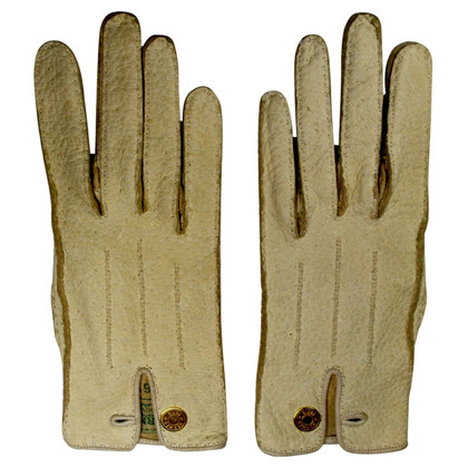 Hermès Beige-colored gloves