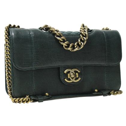 "Chanel ""Cruise Flap Bag"" in pelle di lucertola"