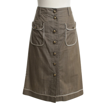 Rena Lange skirt in olive green