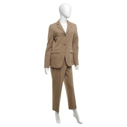 René Lezard Trouser suit in ocher