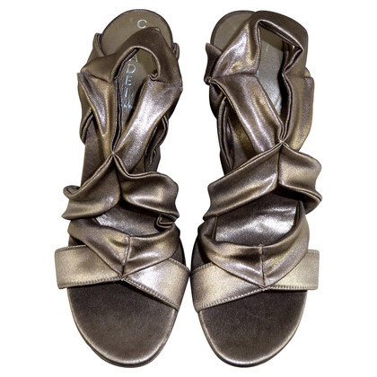 Casadei Zeppe in look metallico