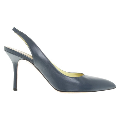 Pollini pumps in blu petrolio