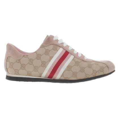 Gucci Sneakers beige/pink
