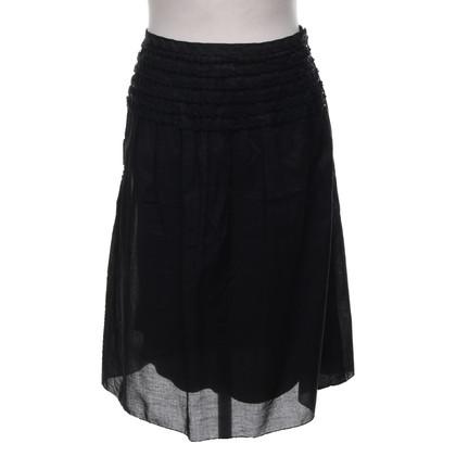 Steffen Schraut skirt in black