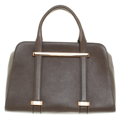 Other Designer Porsche Design - Leather Handbag in Brown