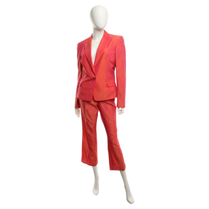Versace Suit in orange-red