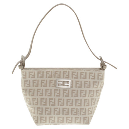 Fendi Handtas in Beige