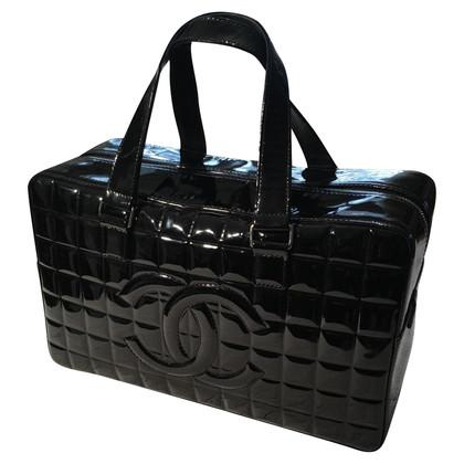 Chanel Black patent Leren handtas
