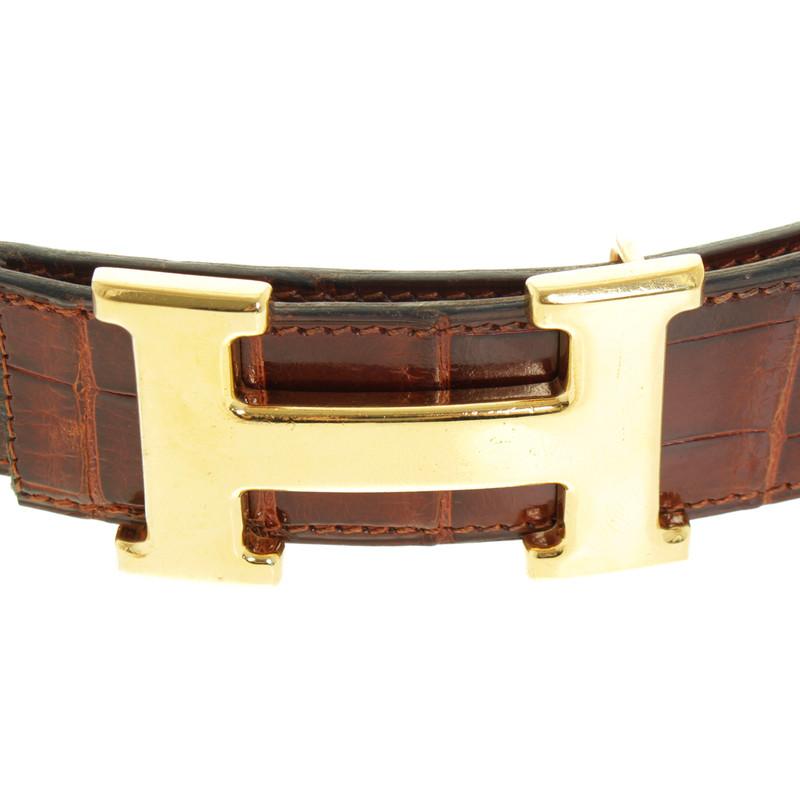 Hermes Cintura Coccodrillo