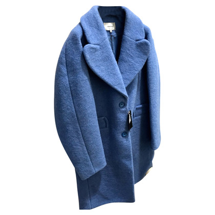 Carven blauwe jas