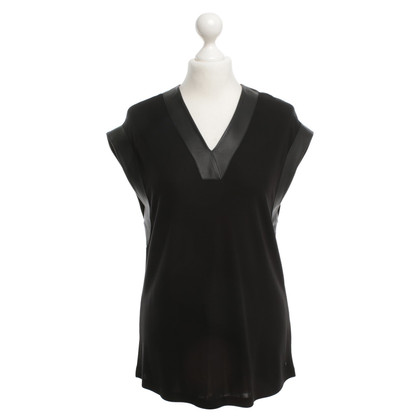 Karl Lagerfeld Top in zwart