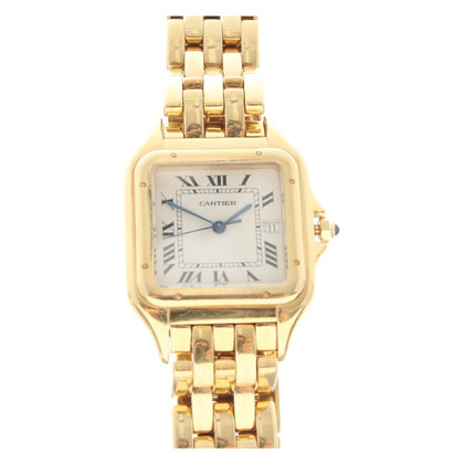 Cartier Golden Panther Wrist Watch